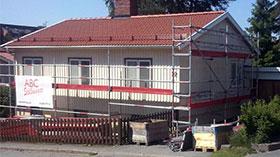 abc byggställning villa