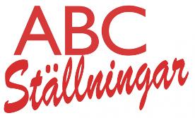 ABC Ställningar