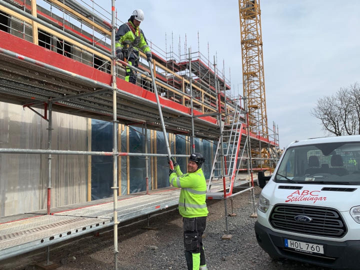 ABC Ställningar Örebro växer med staden