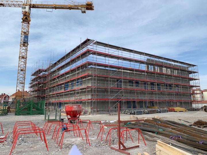 ABC Ställningar Örebro - Byggställning till Svealundsskolan